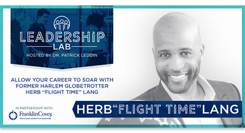Allow your career to soar with Herb 'Flight Time' Lang