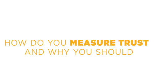 How Do You Measure Trust And Why You Should?