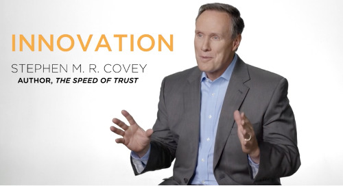 Innovating at the Speed of Trust