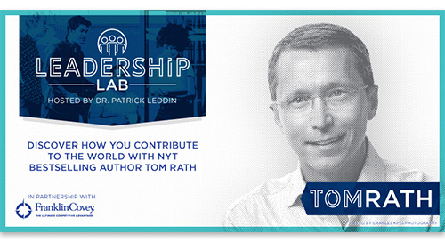 Discover how you contribute to the world with NYT bestselling author Tom Rath