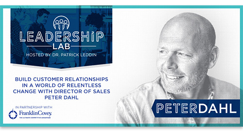 Build customer relationships in a world of change with Director of Sales Peter Dahl