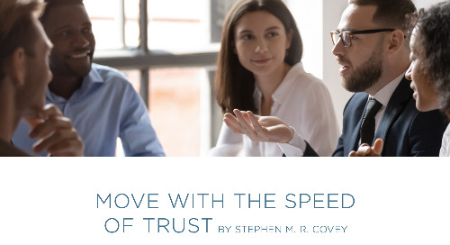 Move With the Speed of Trust
