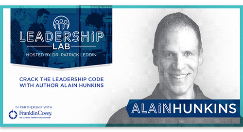 Crack the Leadership Code with author Alain Hunkins