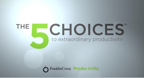Want to bring 5 Choices Training to your organization?