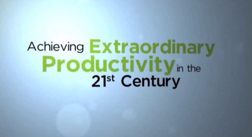 Productivity Practice Overview