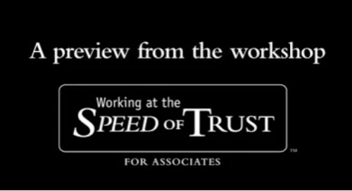 Preview - The Speed of Trust - Eddy