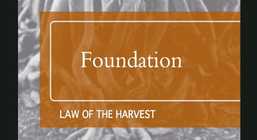 Law of the Harvest