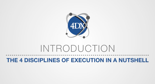 The 4 Disciplines Of Execution®