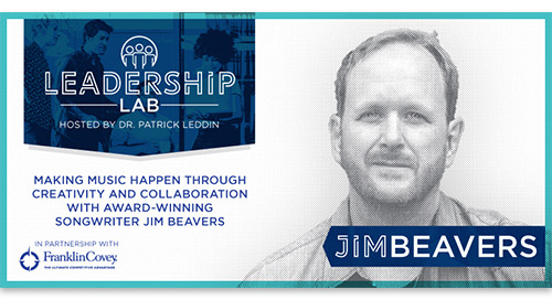 Making music through creativity and collaboration with renowned songwriter Jim Beavers