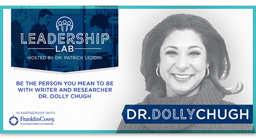 Be the person you mean to be with writer and researcher Dr. Dolly Chugh