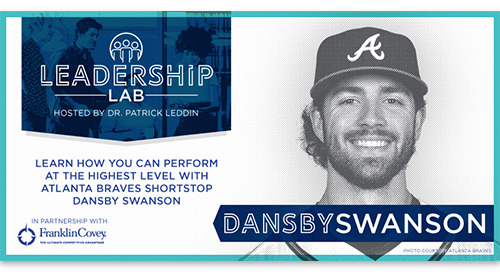 Learn how to perform at the highest level with Atlanta Braves shortstop Dansby Swanson