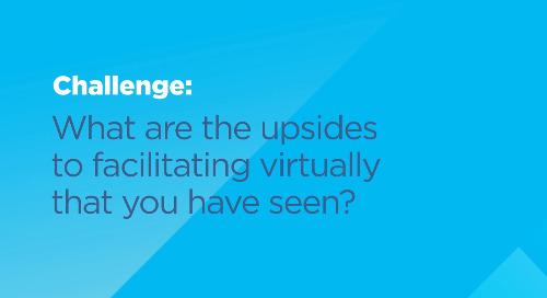 Amanda Berg on the upsides to facilitating virtually.