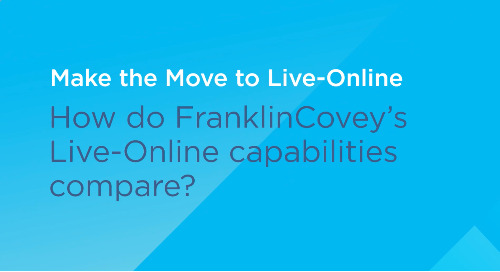 Kelly Bita on FranklinCovey's Live-Online Capabilities