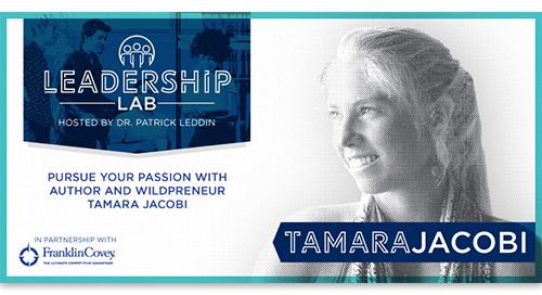 Pursue your passion with author and wildpreneur Tamara Jacobi