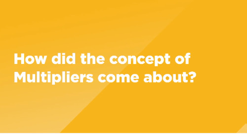 How did the concept of Multipliers come about?