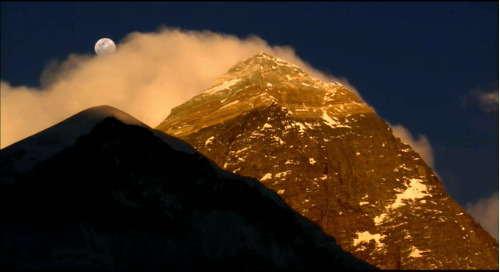 The Blind Ascent of Mount Everest