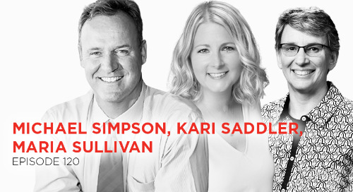 Talk Less. Ask More: Michael Simpson, Maria Sullivan, and Kari Saddler