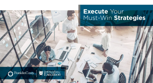 Execute Your Must-Win Strategies - On Demand Webcast