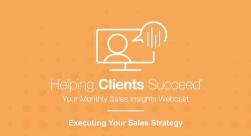 Executing Your Sales Strategy - On Demand Webcast