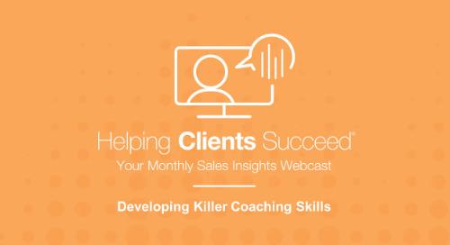 Killer Coaching Skills - On Demand Webcast