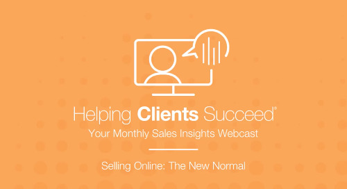 Selling Online: The New Normal - On Demand Webcast