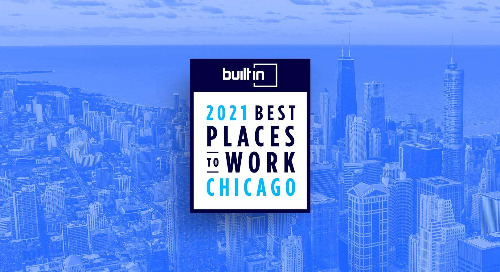 Built In Honors Vibes in Its Esteemed 2021 Best Places To Work Awards