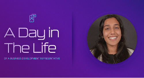 A Day In The Life as a Business Development Representative