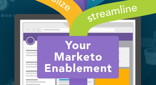 Steps to Operationalize and Streamline your Marketo Enablement