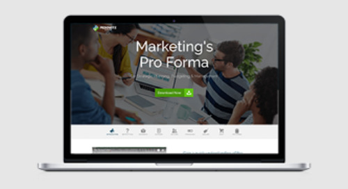 Marketing's Pro Forma for Strategic Planning, Budgeting & Management