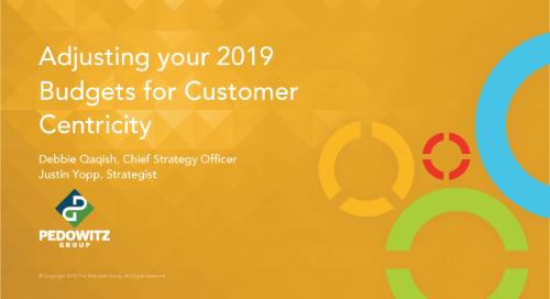 Webinar: Adjusting Your Budget for Customer Centricity