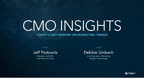 CMO Insights: Debbie Umbach, VP of Marketing, BitSight Technologies