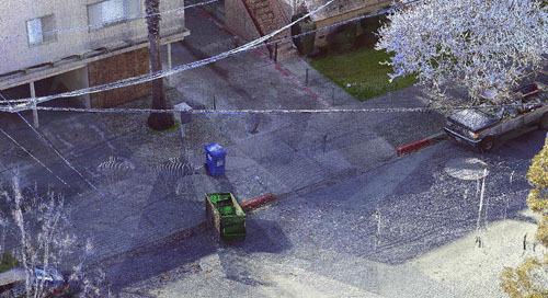El Focus Laser Scanner se utilizó para mejorar la calidad de las imágenes de una cámara corporal