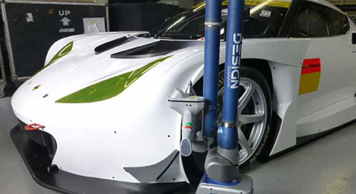 Haciendo realidad los coches soñados con el FARO Design ScanArm