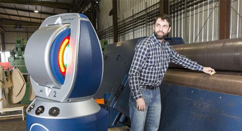 Alineación precisa de máquinas mediante Laser Tracker y BuildIT Metrology