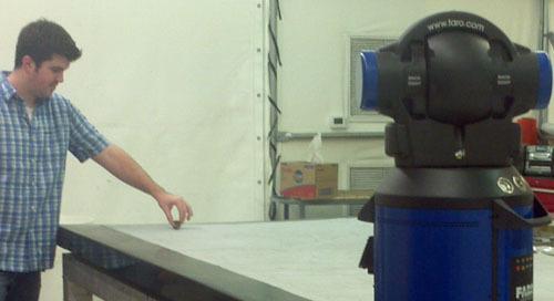FARO Laser Tracker reduce el tiempo de reparación de semanas a días