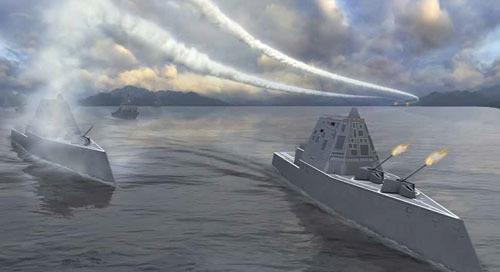 FARO Laser Tracker mejora las mediciones en un destructor naval