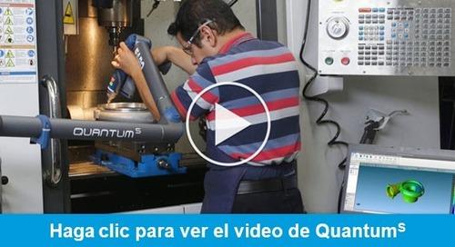 El mejor brazo de medición del mundo acaba de mejorar – FARO presenta Quantum S FaroArm
