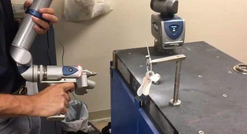 La tecnología de escaneo a impresión 3D le devuelve la posibilidad de crear a un artista parapléjico