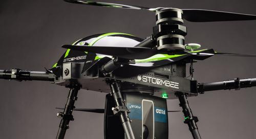 Escaneo 3D desde el aire de FARO y STORMBEE