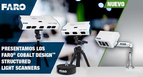 [NUEVO] Cobalt Design Structured Light Scanners para los profesionales del diseño