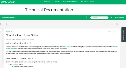 Cumulus Linux User Guide