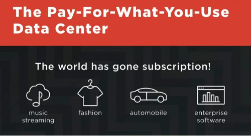 The Pay-For-What-You-Use Data Center