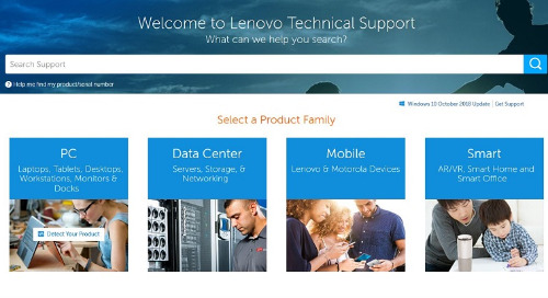 Lenovo Technical Support