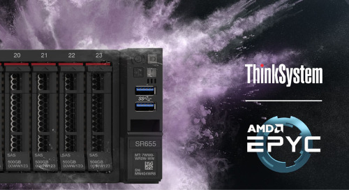 Lenovo introduces single-socket servers, designed specifically for Edge and data-intensive workloads