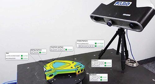 Como usar geradores ópticos de imagens em 3D e software de análise para inspeção automatizada