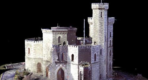 Conservando um lugar emblemático - o Castelo de Fonthill
