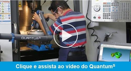 O braço de medição mais eficiente do mundo ficou ainda melhor – FARO Quantum S FaroArm