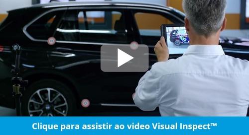 Apresentação do Visual Inspect – realidade aumentada em dispositivos móveis para integrar inspeção e design
