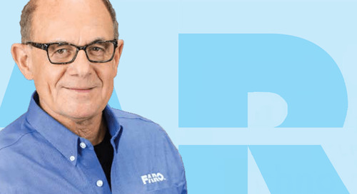 Entrevista com Simon Raab, PhD, um dos fundadores, CEO e presidente da FARO