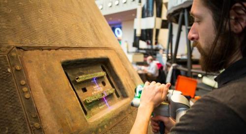 A tecnologia de digitalização 3D dá uma nova perspectiva ao aniversário do Apollo 11
